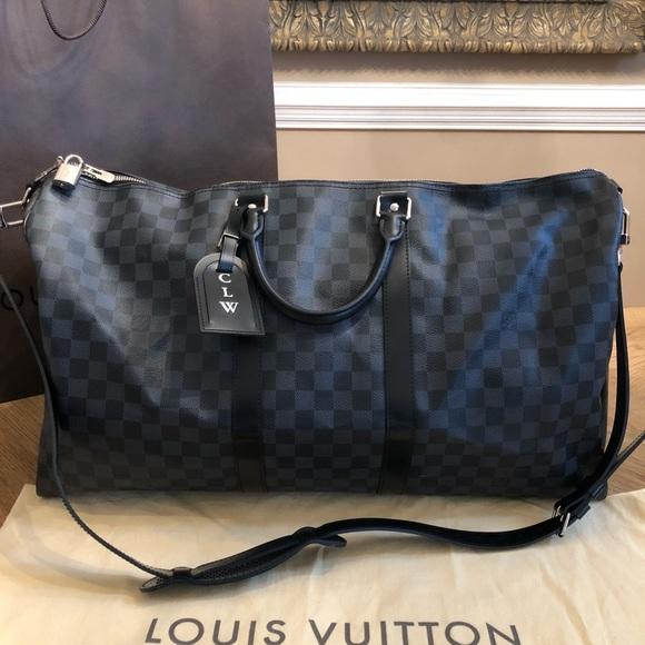 c66458077b0f Louis Vuitton Handbags - Louis Vuitton Keepall 55 Damier Graphite Duffle